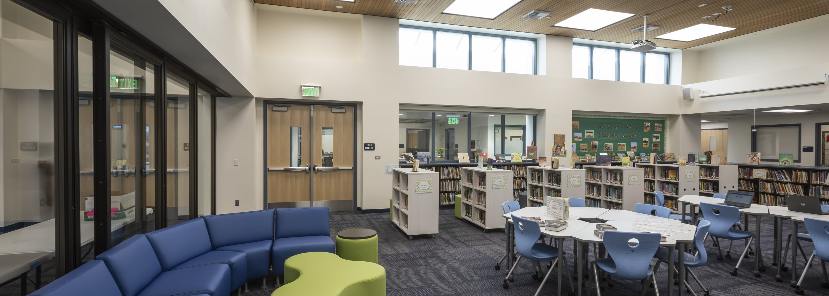 Brywood Library Seating Area