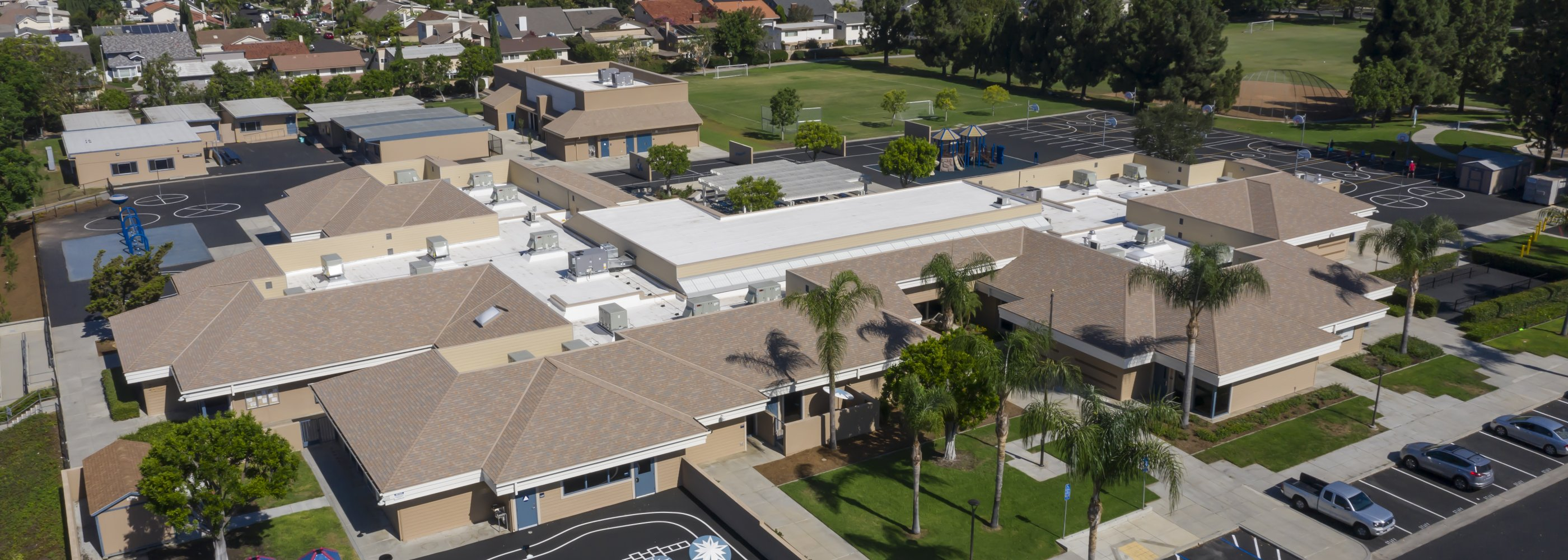 Brywood Elementary Aerial View